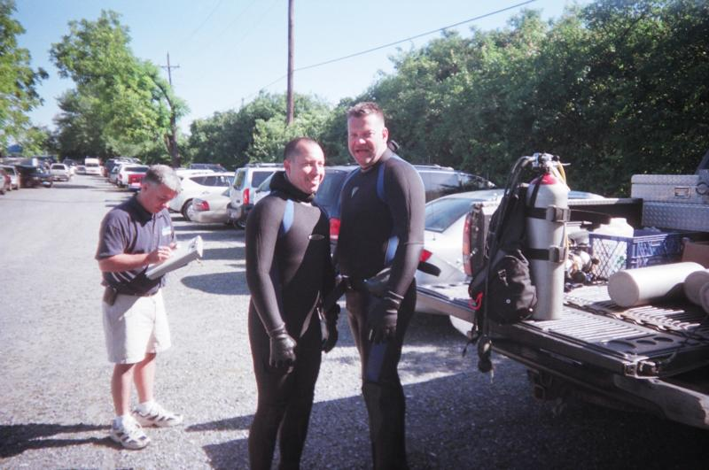 The Two Dive Instructors from Scuba NY. They are awsome.