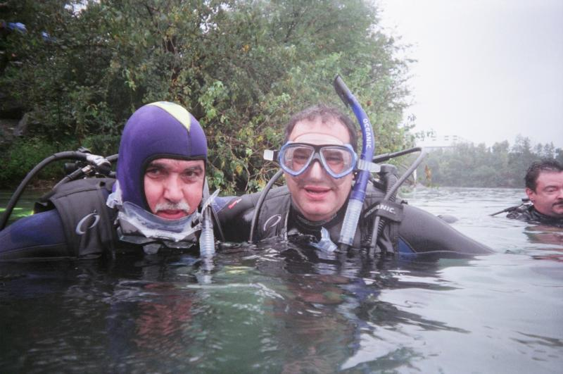 My Dive Buddy Nick