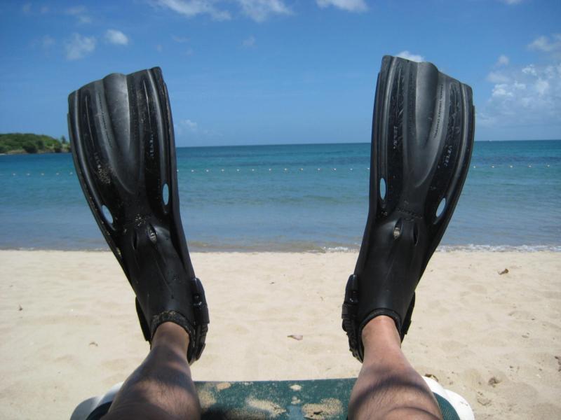 Me in St. Lucia taking it easy