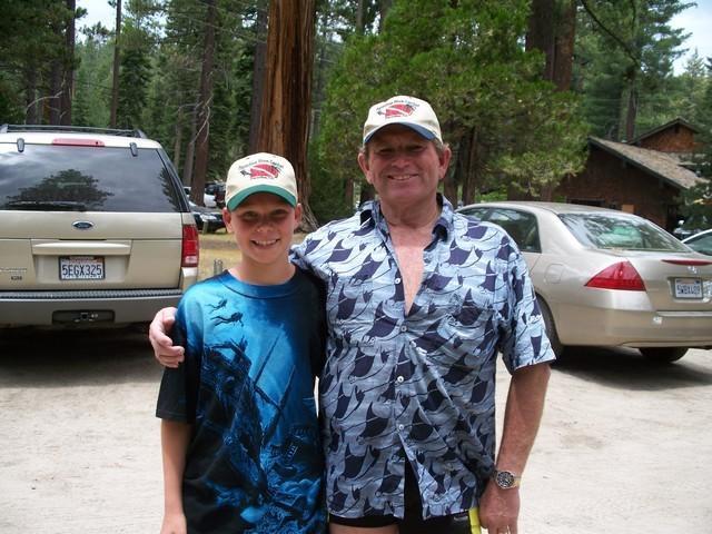 Me & Duane at Meeks Bay Lake Tahoe 2008