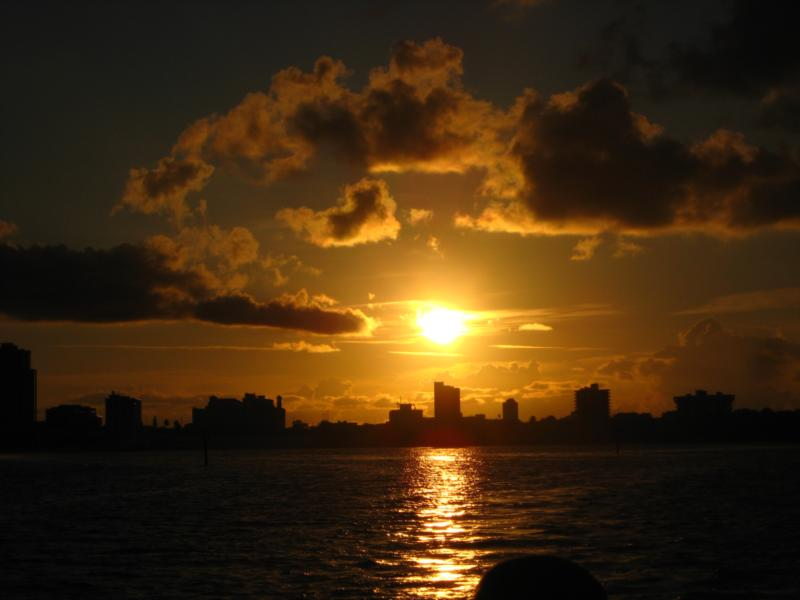 Sunrise over Clearwater