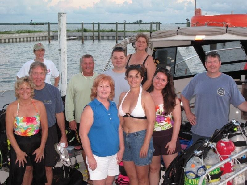 Our Dive charter