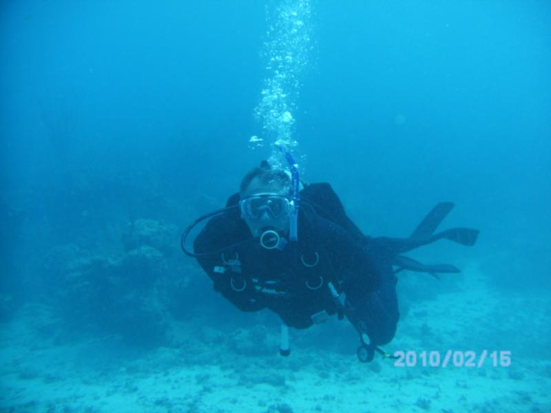 Dave (Diver 763) headin' for the Cathedral
