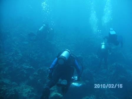 Humpin' over the reef Great Guana Cay, Abaco, Bahamas