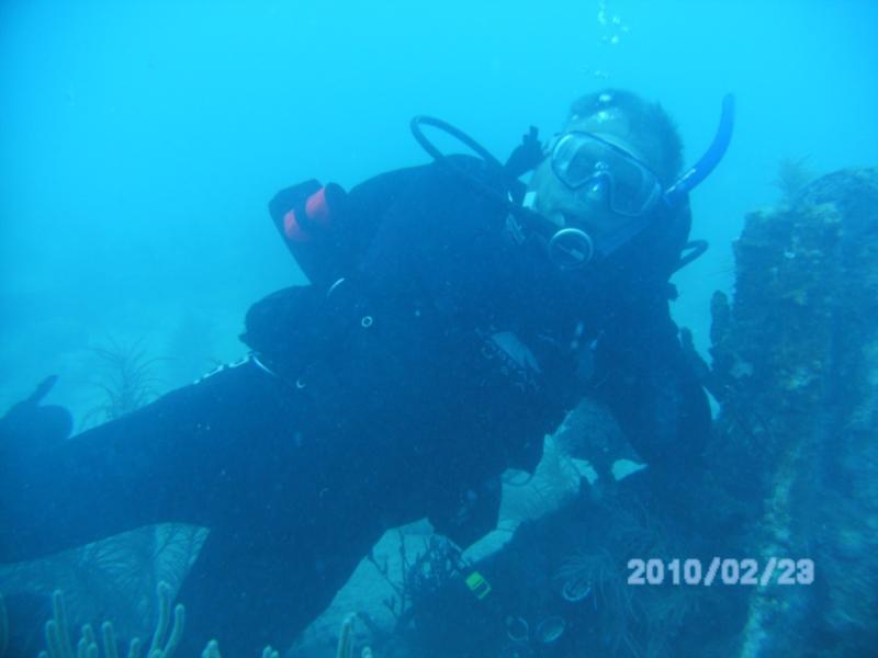 Dave (Diver763) on the Benwood, Key Largo FL