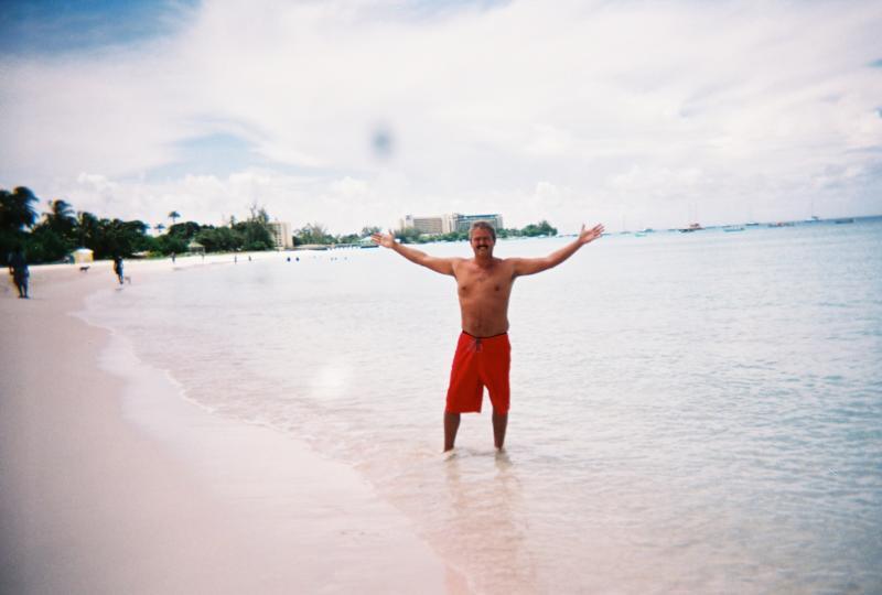Me in Antigua just south of Devils Bridge