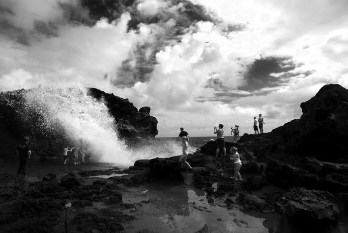 North Shore Maui - blow hole