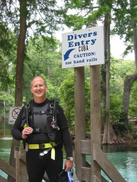 Diving at Ginnie Springs