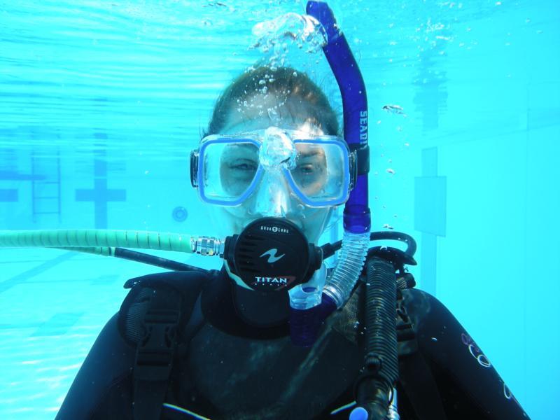 first breath underwater Sept 09