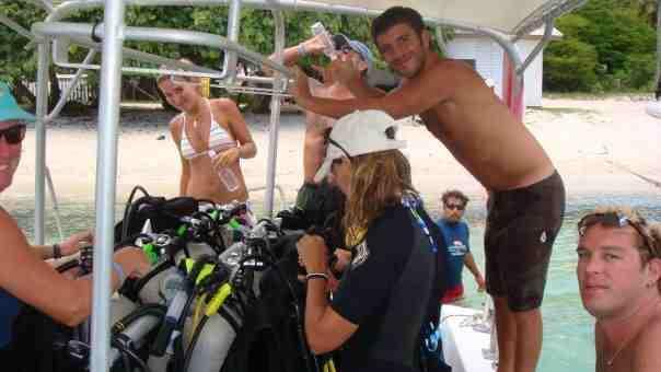 Aqua Action Staff Dive Vacation