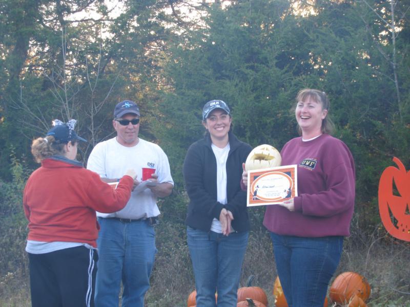 Underwater Pumpkin Carving Awards