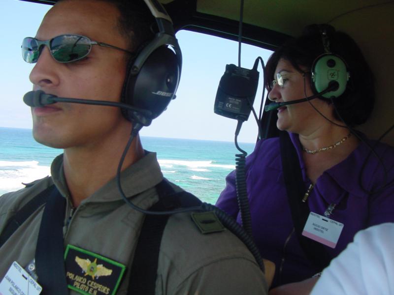 Over-Flight in Dom Rep