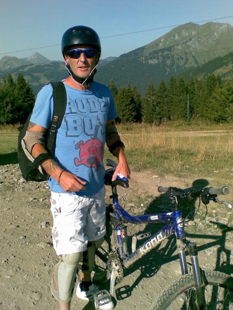 biking in lets gets