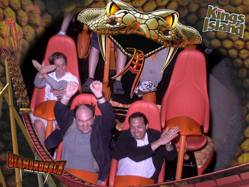 me being silly on Diamondback