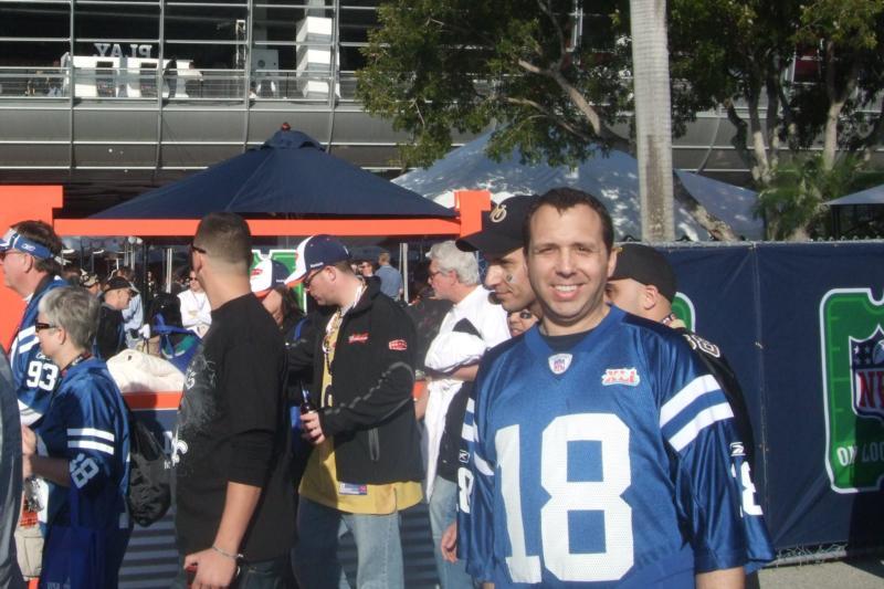 amongst fellow Colts fans