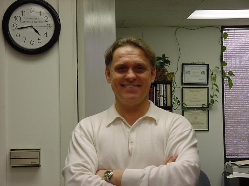 Myself (Chet) in Office