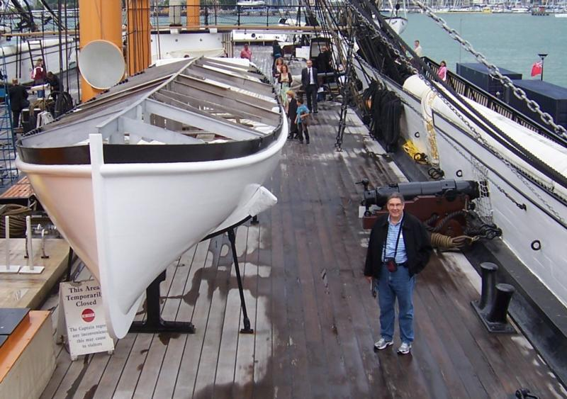 HMS Warrior  Portsmouth Harbor