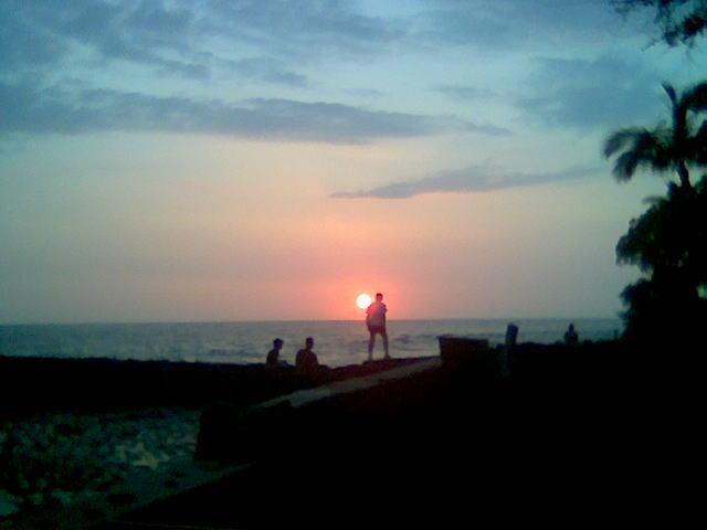 Lee,HI,Ocean,sunset