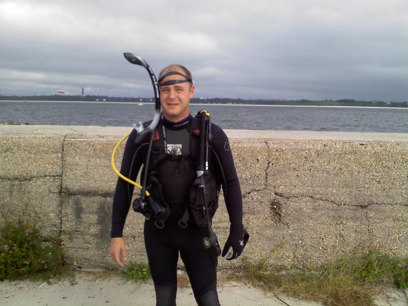 ready for a shore dive in pensacola