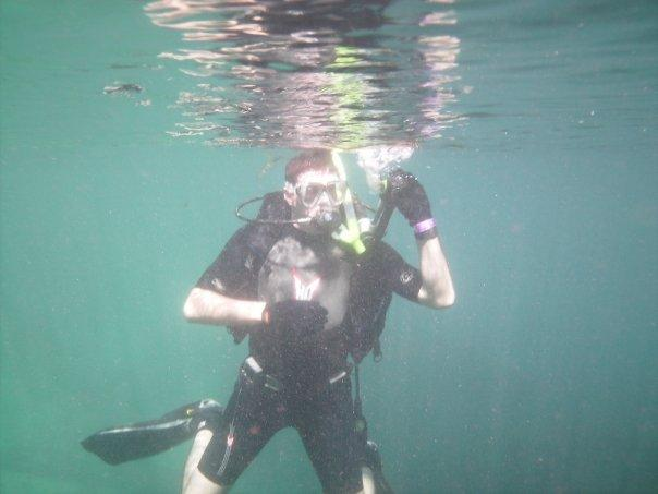 Diving in Rainbow River