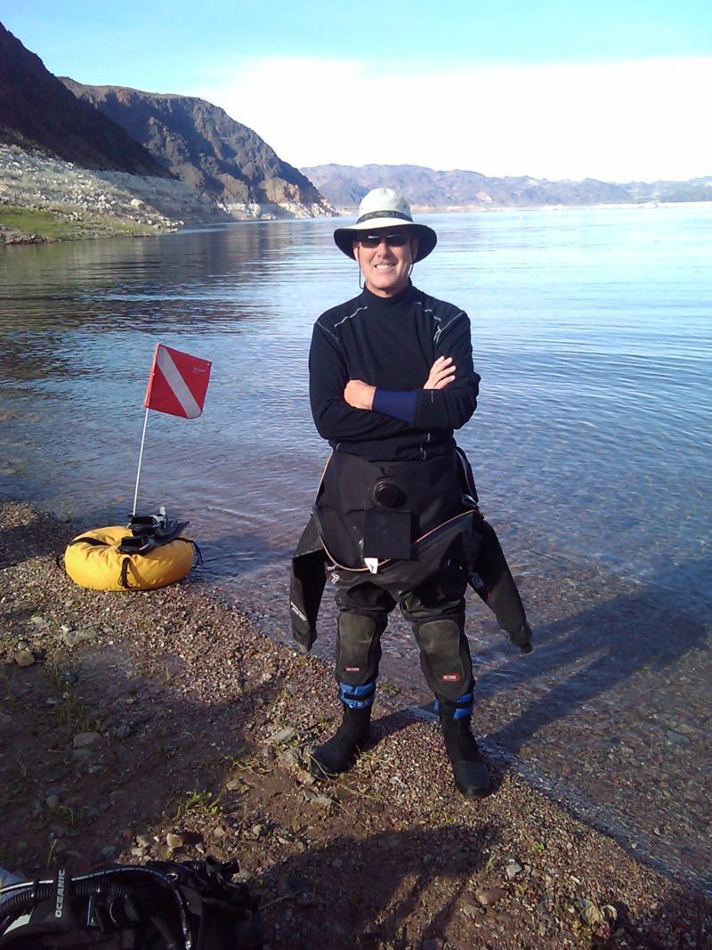 Me at Kingman Wash Lake Mead