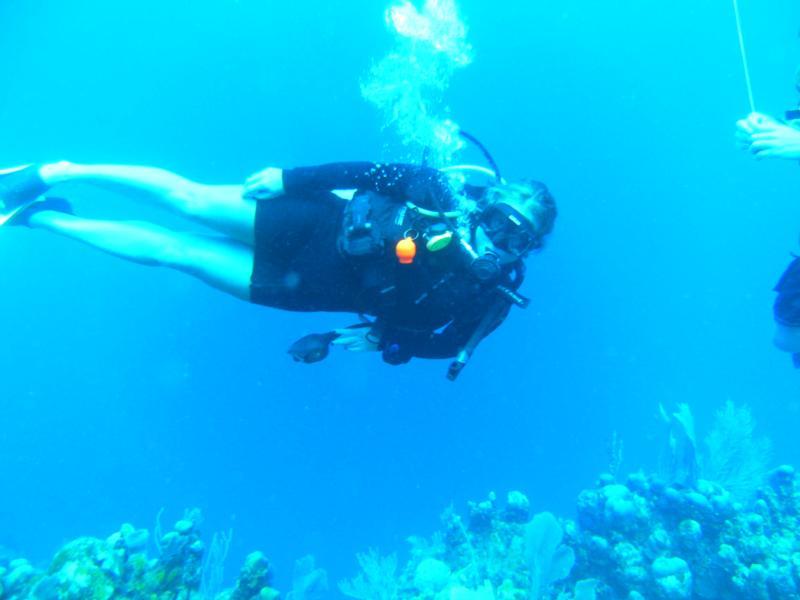 Honduras diving