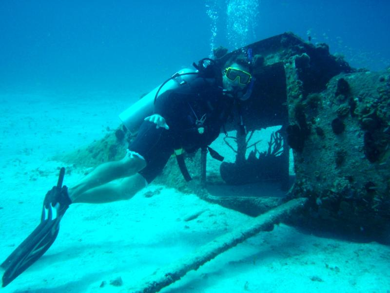 shallow plane Negril Jamaica