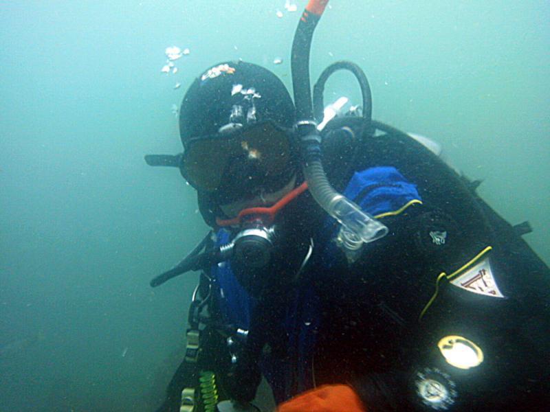 Diving Dry at Crescent Bay, Laguna Beach