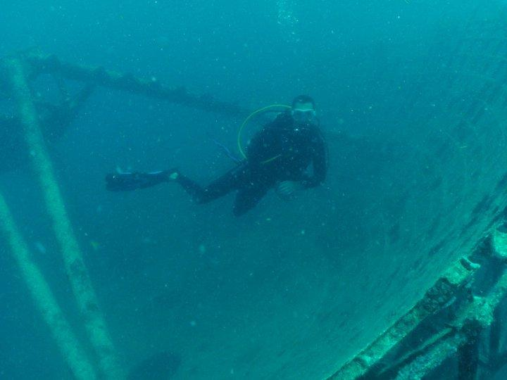 Diving the USS Vandenberg, May 2011
