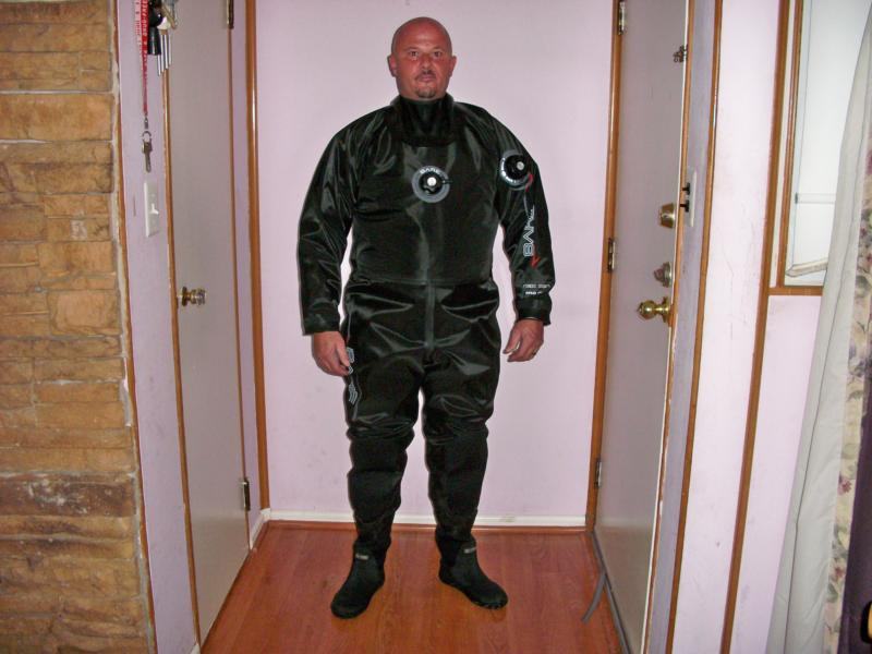 MY NEW BARE DRYSUIT