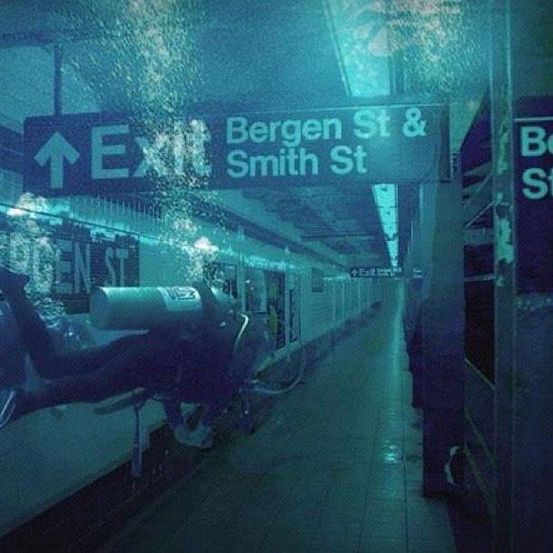 New York subway becomes new underwater attraction for scuba divers