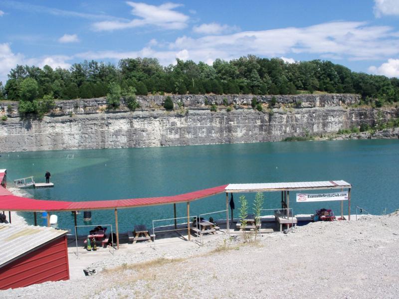 My local quarry Pennyroyal Scuba Center