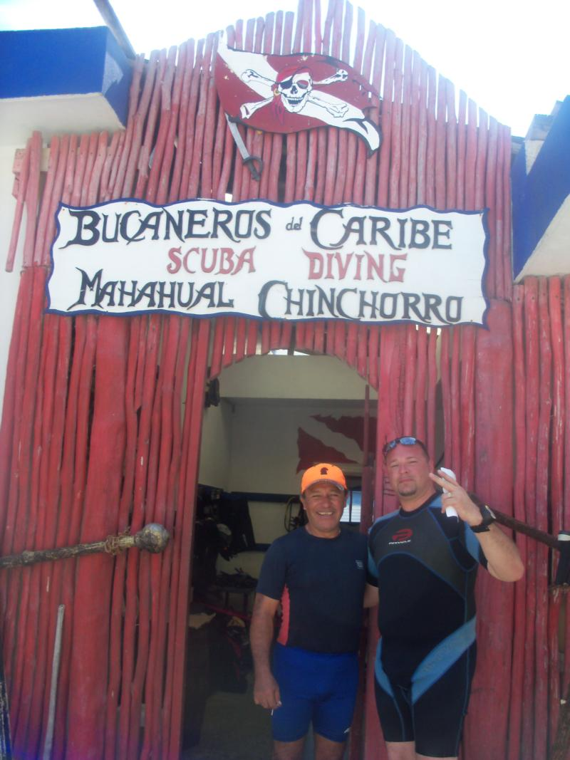 go see Jorge at Bucaneros in Costa Maya, Mexico