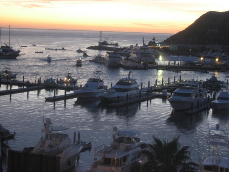 Cabo off to sea of cortez and pacific