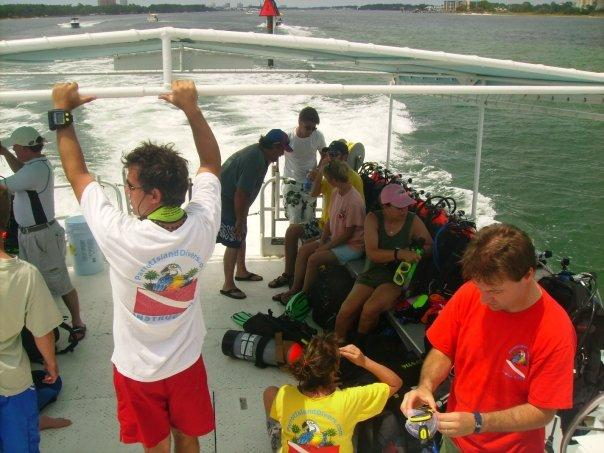 Panama City Beach, Florida (Parrot Island Dive Club)
