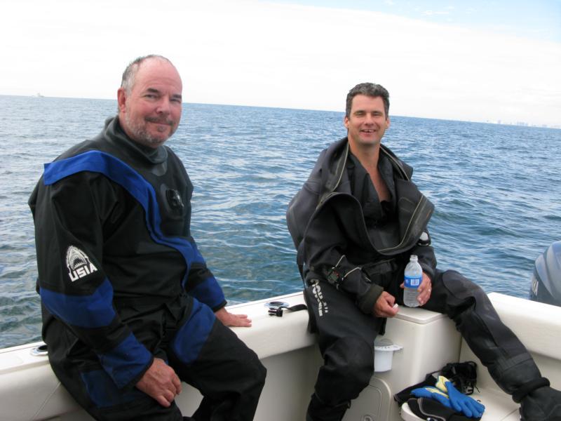 Fenwick Shoals on my boat