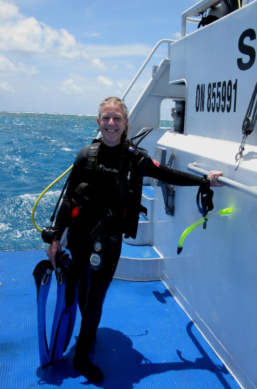 Cairns - after a dive