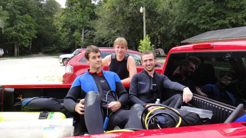 Diving Buddies at Ginnie Springs