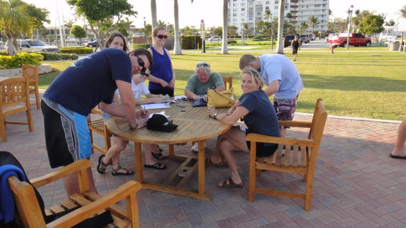 Getting ready for a Scientific training dive - West Palm Beach