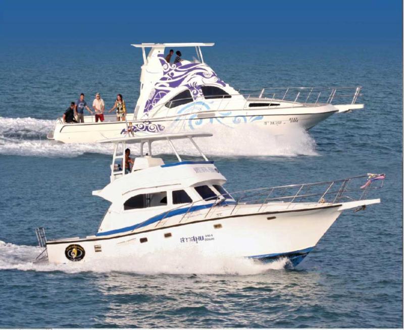 Bophut Diving School Boats