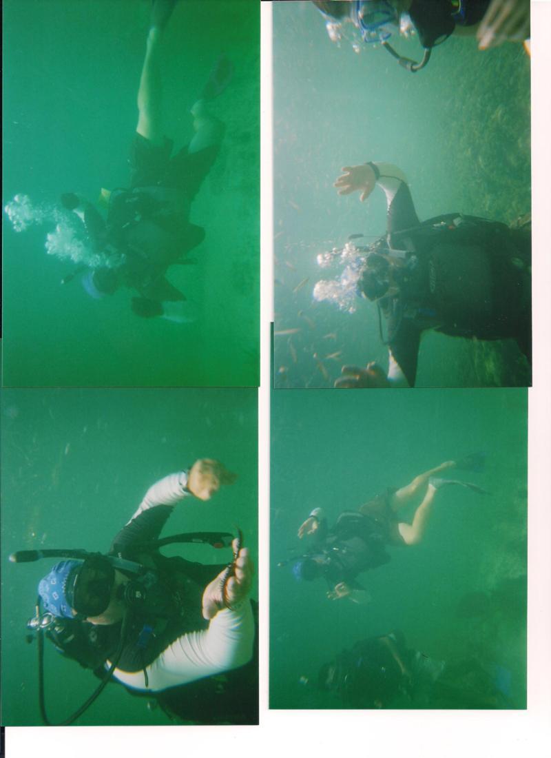 Fun under water