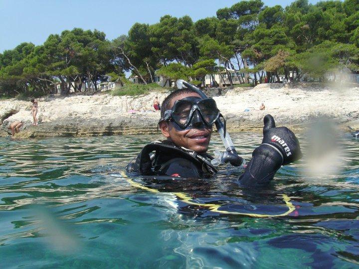 Me in Croatia