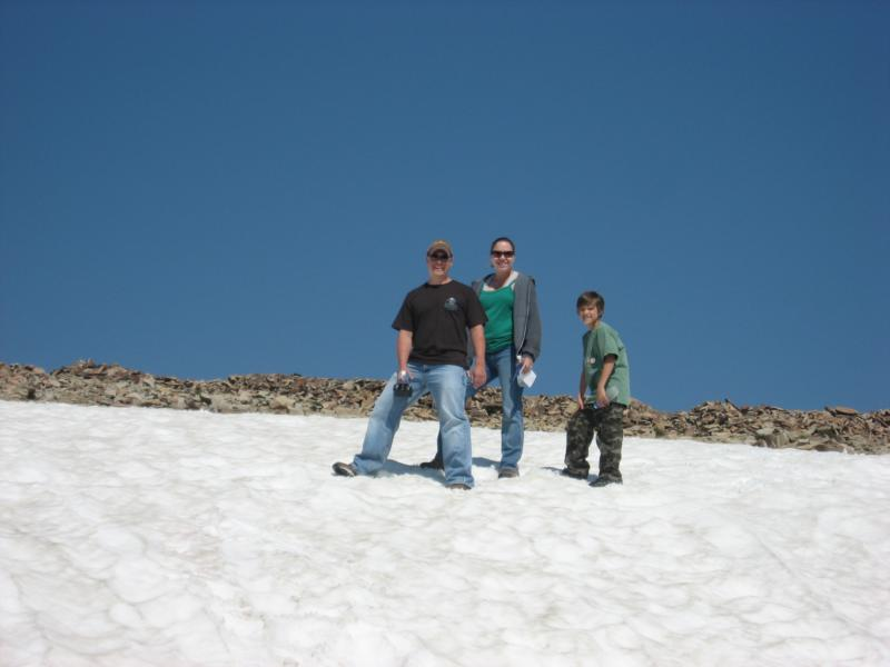 Steve, Sean, and Cristy in Montana