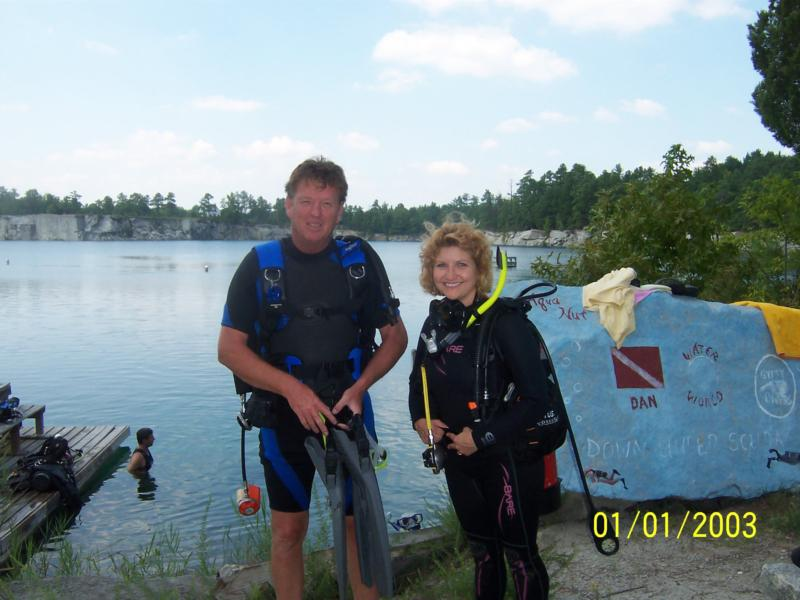 Paul and me today 8-28-10