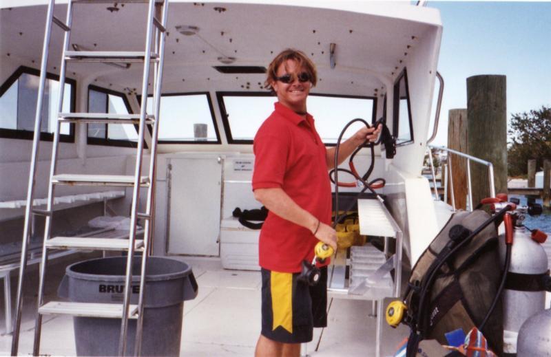 Australian Dive Master in Bahamas