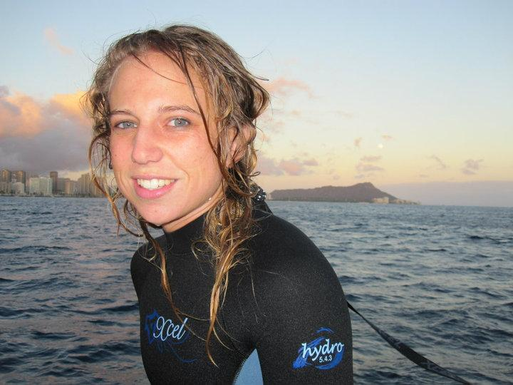 Night Dive Surface Interval with Diamondhead background