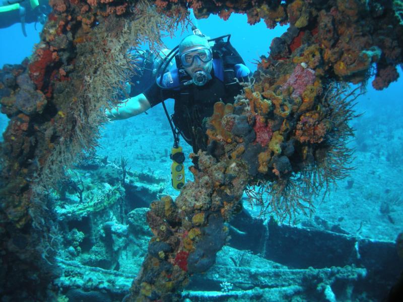 RMS Rhone, British Virgin Islands