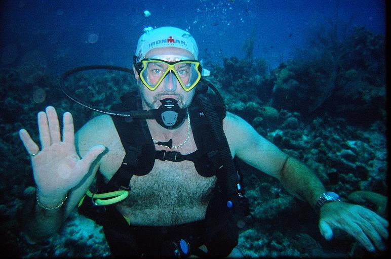 First Dive in Grand Cayman