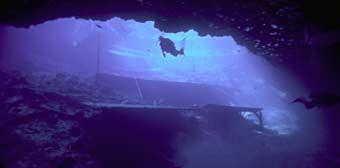 Blue Grotto (Cavern diving)