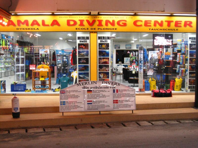 Merlin Divers - Kamala Diving Center